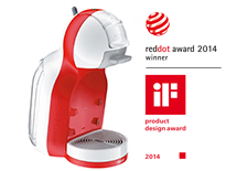 Dolce Gusto Maschine Mini Me RedDot Award 2014 Winner